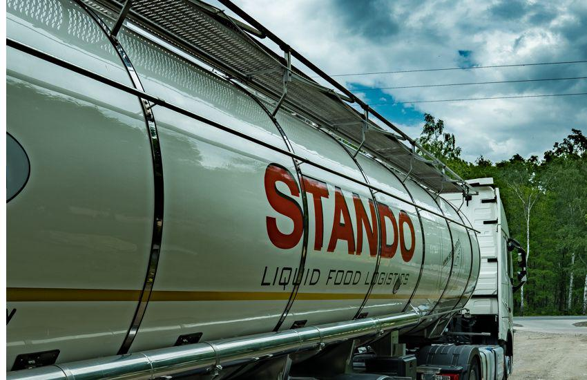 Cysterny spożywcze firmy Stando
