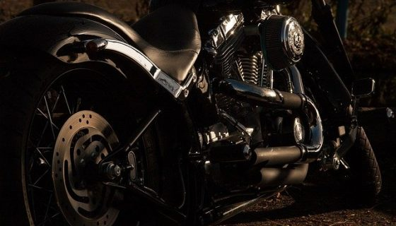 klocki hamulcowe motocyklowe - motocykl